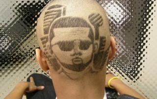 Dallas City Scape Haircut Style